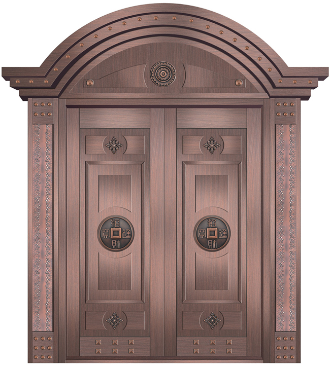 为什么别墅大门用的都是铜门