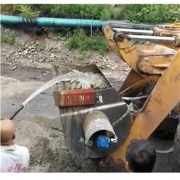 中首重工混凝土攪拌斗建筑工程用自動上料裝載機攪拌斗鏟車