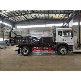 新型环保车 10立方15立方污泥运输车价格