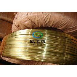 批发精密零件用CuZn15黄铜线材