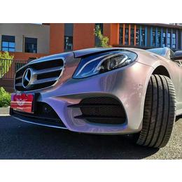 奔驰E300L金斯迪车身改色膜之魔幻火山灰施工鉴赏缩略图