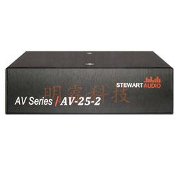 现货供应美国Stewart 功放AV25-2机架式功率放大器