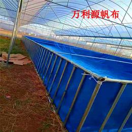 养殖帆布水池定制价格-帆布养殖水池厂家-养殖蓄水池批发缩略图