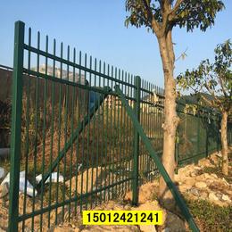 社区围墙栅栏现货 湛江烤漆围栏 防爬拼装式栅栏厂