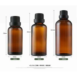 10ml15ml精油瓶玻璃瓶大头盖茶色瓶小药瓶独立包装