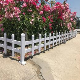 佛山护栏厂供应pvc塑钢护栏规格小区绿色拼装锌钢草坪护栏