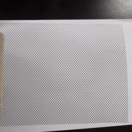 0.3mm厚钛网  球拍用菱形孔钛拉网 高强度抗拉钛网