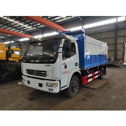 载重8吨污泥清运车价格 容积9方10方污泥清运车厂家报价