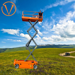 全自行走升降机 16米升降平台 剪叉式升降梯报价