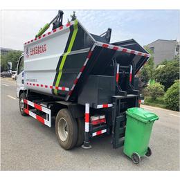 封闭式10吨密封式分类垃圾车 10方密封式垃圾车订购