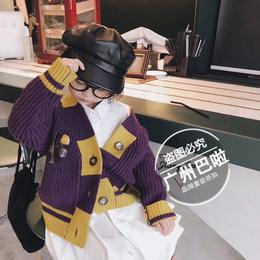 Strongbebe韩国时尚童装春季品牌折扣货源供应厂家