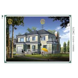 二层独栋欧式风格轻钢别墅