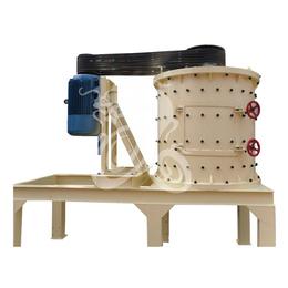 亚博平台网站河卵石小型立轴制砂机 花岗岩机制砂设备