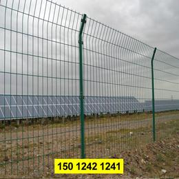 保税区圈地防护栏价格 茂名变电站围栏 绿色铁丝网