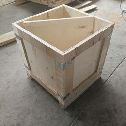 胶合板木箱厂家批发定制两面进叉木箱 青岛工厂