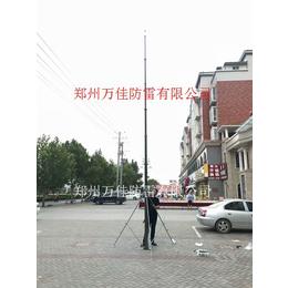 8米14米电动天线升降杆 10米可移动式手摇升降避雷针