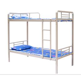 學生宿舍雙層鐵床 實惠扎實學生宿舍上下鋪床 廠家定做