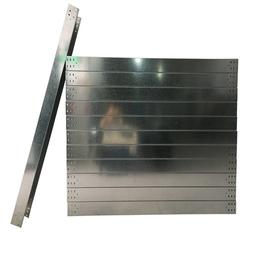 深圳热浸锌线槽厂家2米长烤漆电缆槽现货防火开盖式金属线槽