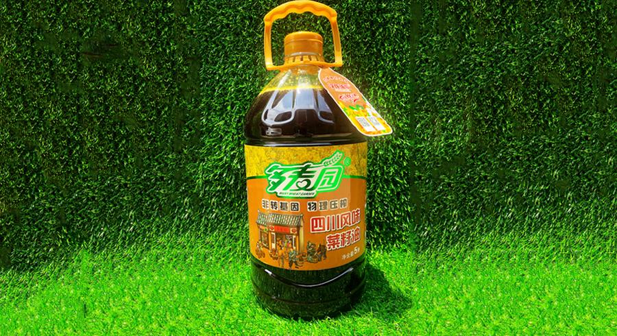 多麦园-四川风味菜籽油