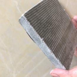 山东泰安水泥毯厂家常年供应 10mm厚度纤维骨架水泥毯帆布